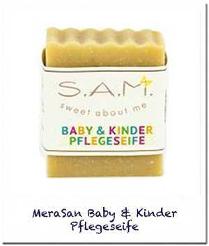 S.A.M. Baby & Kinder Pflegeseife, 60g