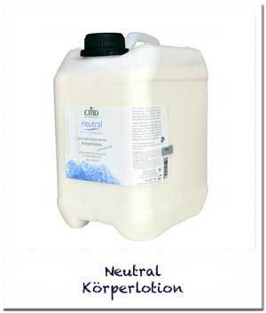 Neutral Körperlotion, 2,5l