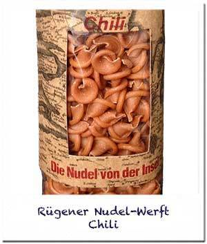 Nudel-Werft: Chili Nudeln