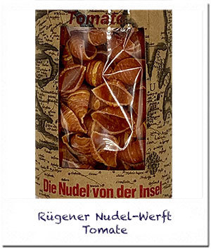 Nudel-Werft: Tomate Nudeln